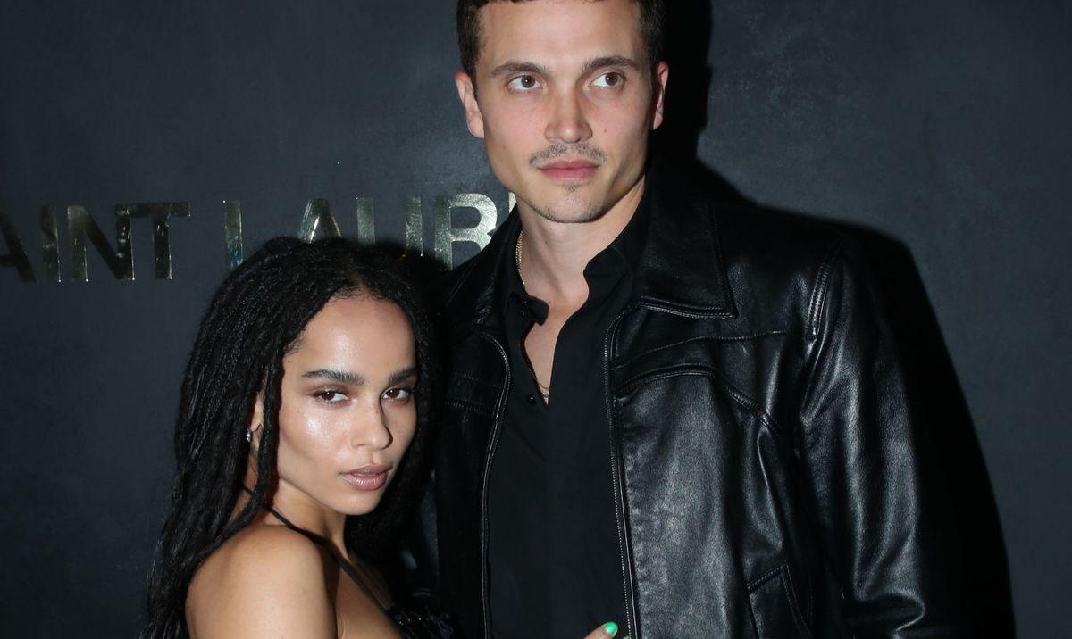 Zoë Kravitz and Karl Glusman