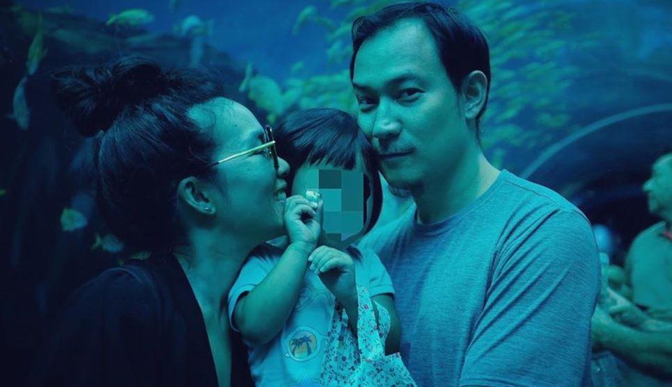 Ali Wong and Justin Hakuta