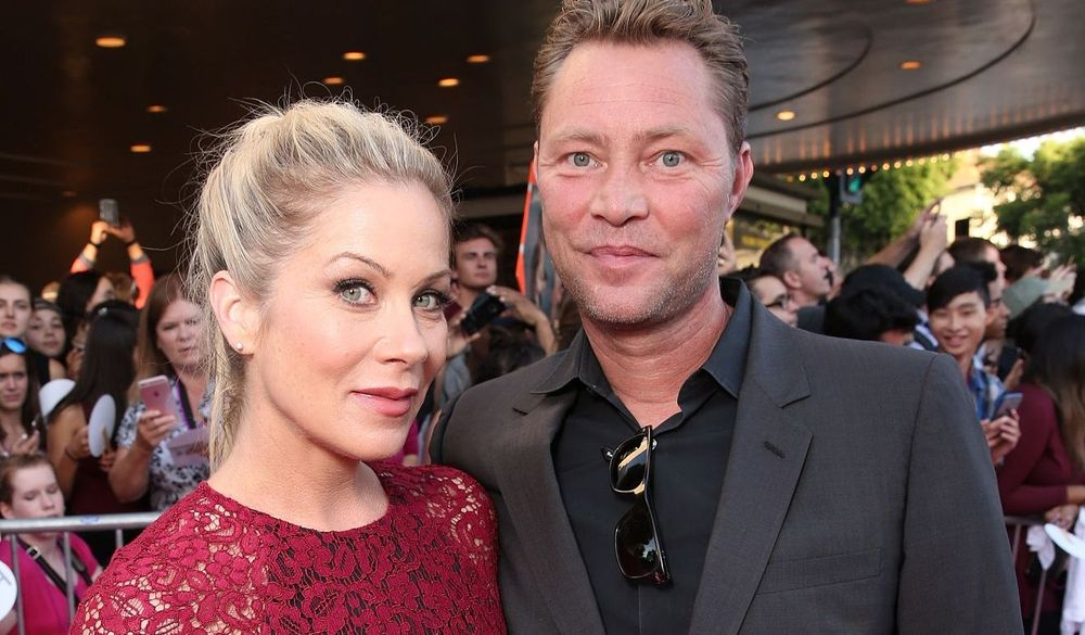Christina Applegate Martyn LeNoble