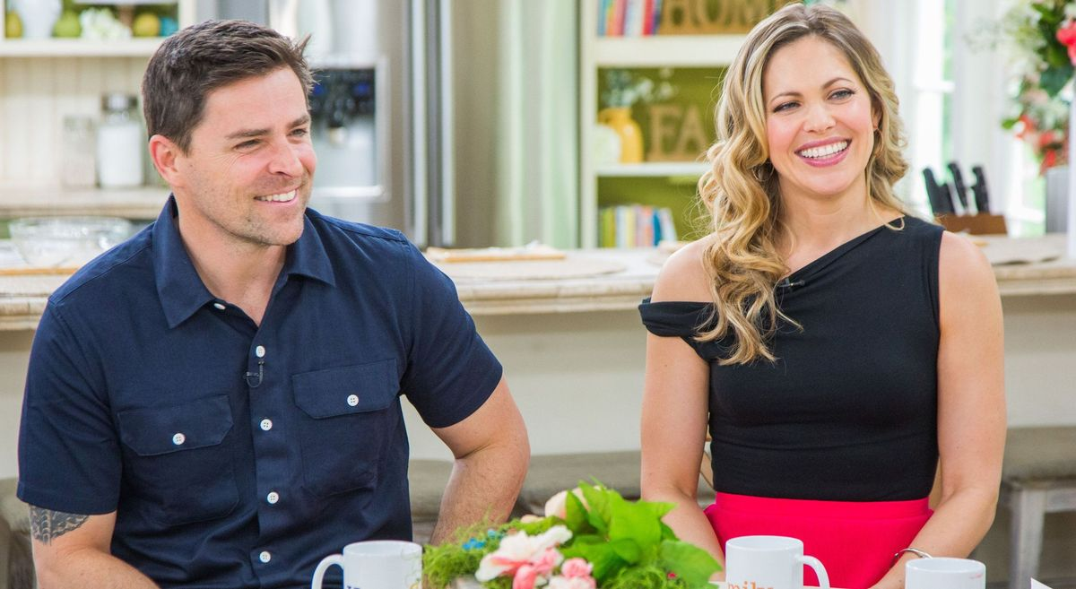 Kavan Smith and Pascale Hutton