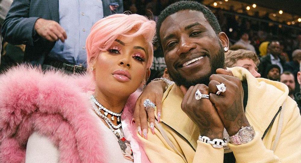 Keyshia Ka'Oir and Gucci Mane