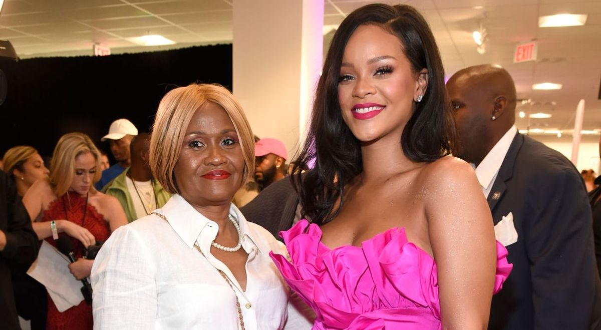 Monica Braithwaite and Rihanna