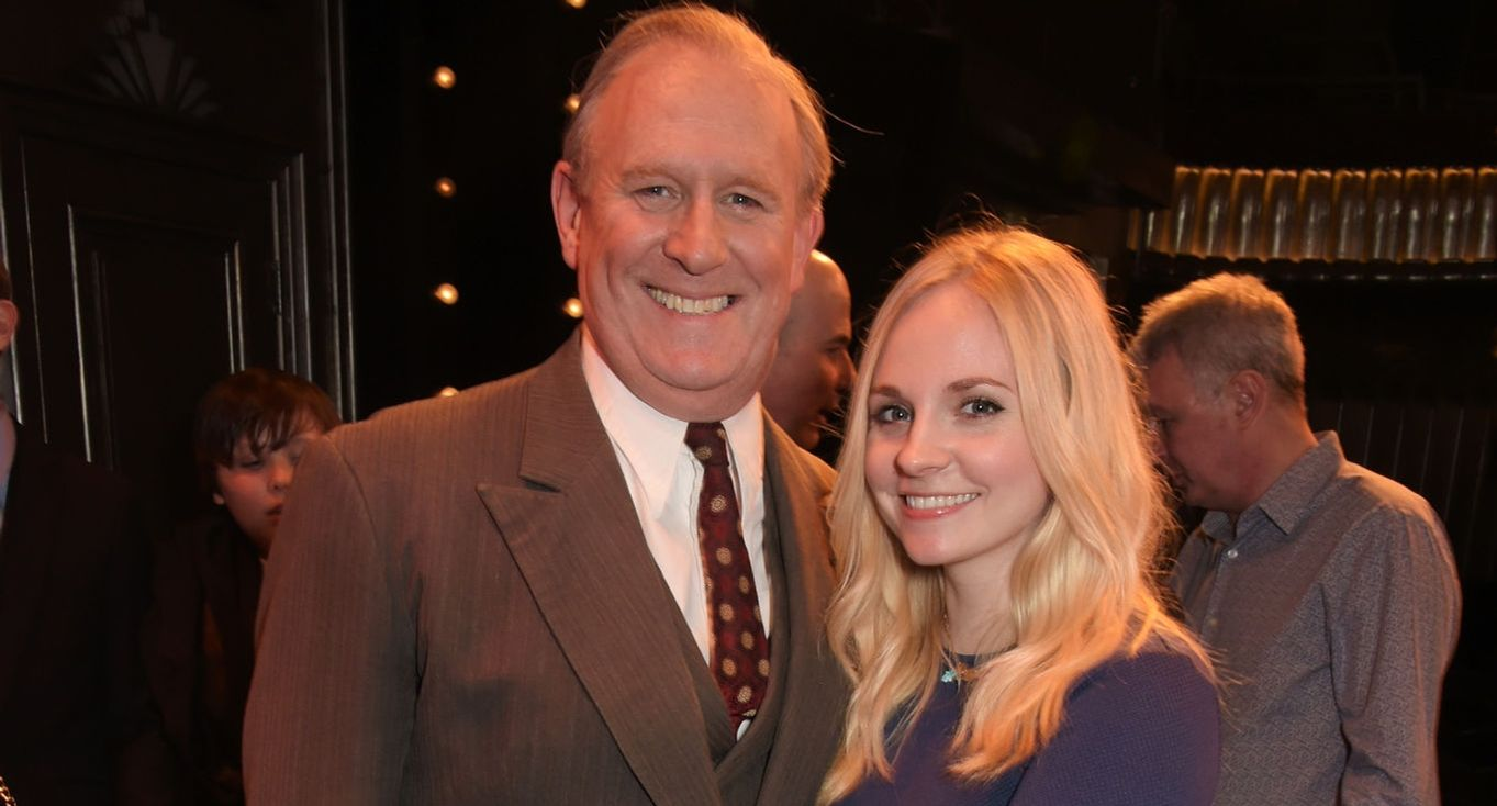 Peter Davison and Georgia Moffett