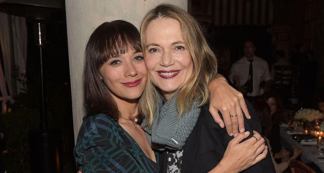 Rashida Jones and her mother
