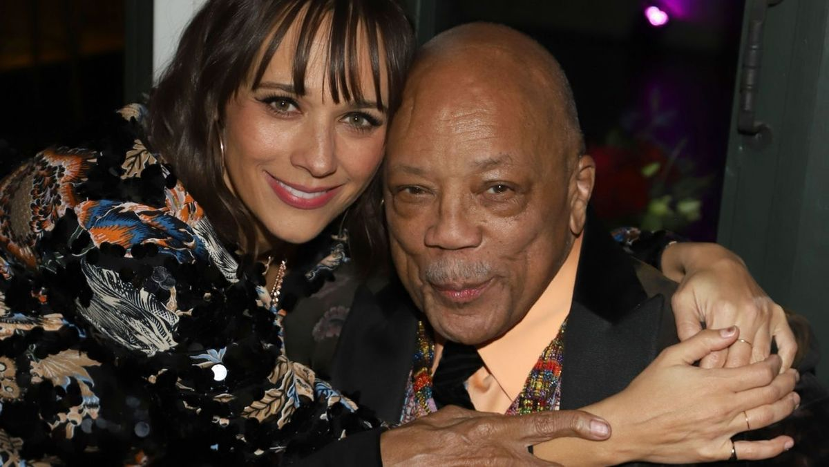 Rashida Jones and her father