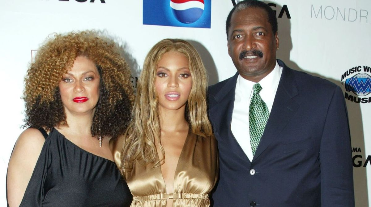 Tina, Beyonce and Matthew Knowles
