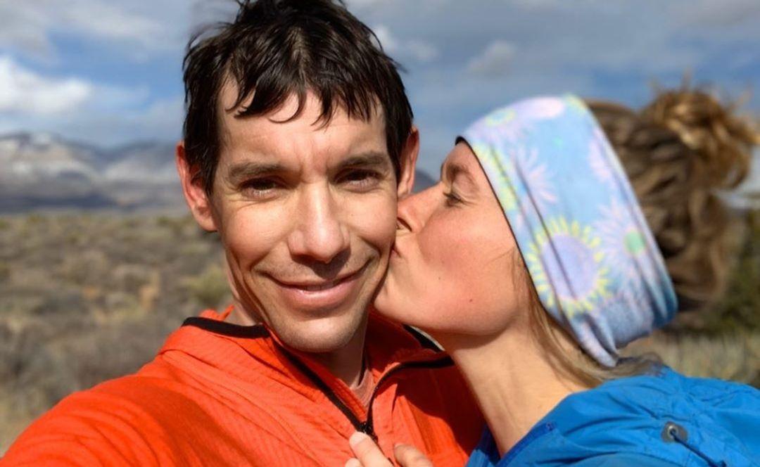 Alex Honnold and Sanni McCandless