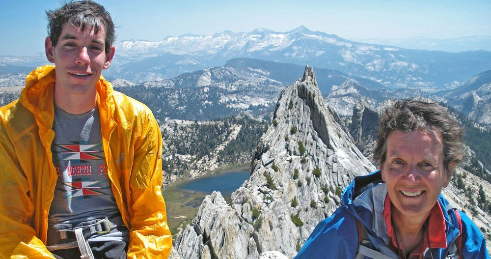 Alex Honnold and his mom