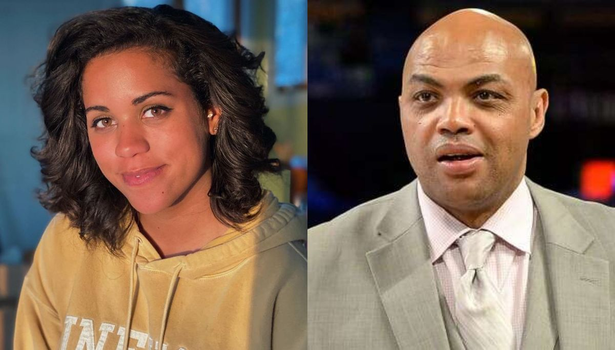 Alexi Mccammond and Charles Barkley
