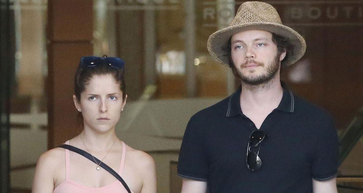 Anna Kendrick and Ben Richardson