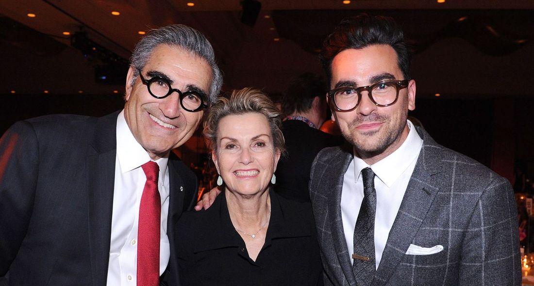 Eugene Levy, Deborah Divine Levy and actor Daniel Levy