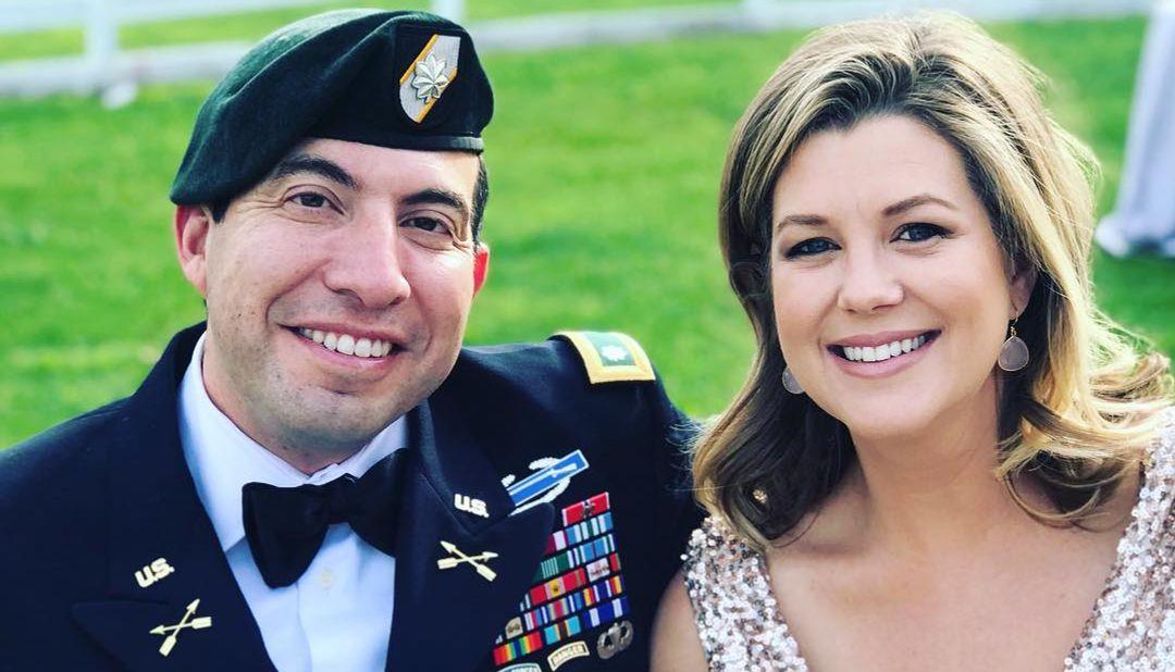 Fernando Lujan and Brianna Keilar