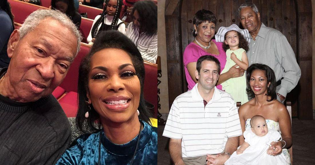 Harris Faulkner's family