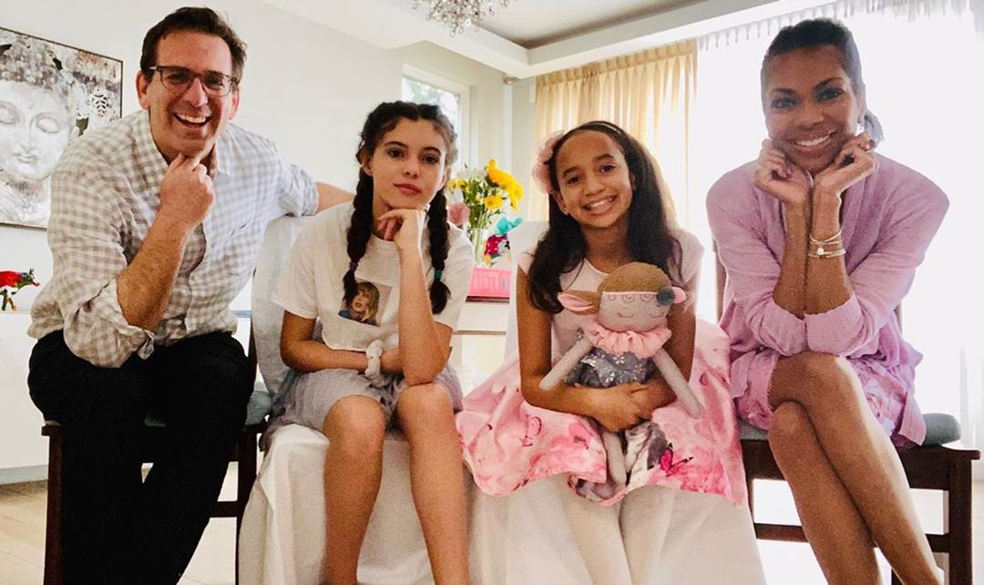 Harris Faulkner's husband and kids