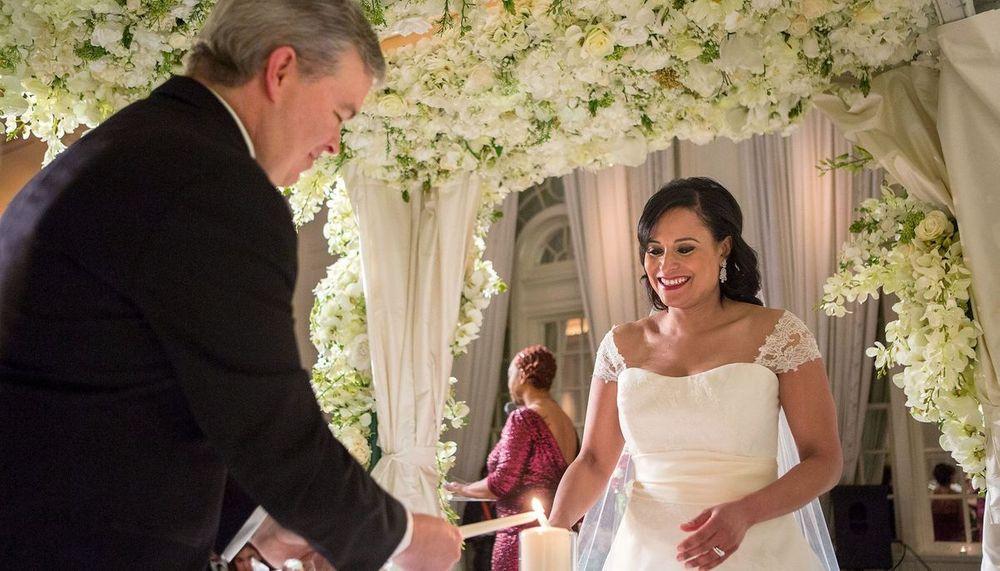 Kristen Welker's wedding