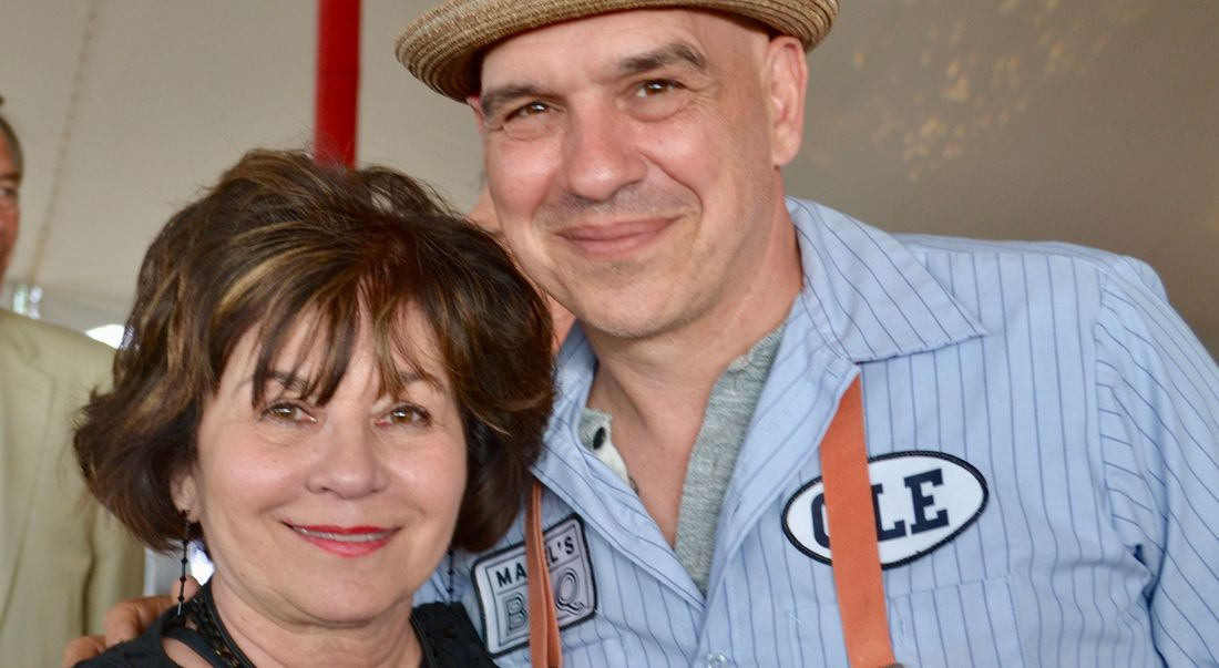 Michael Symon and his mom