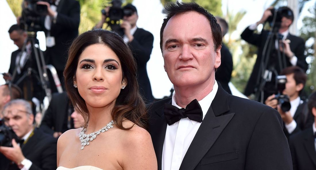 Daniella Pick and Quentin Tarantino