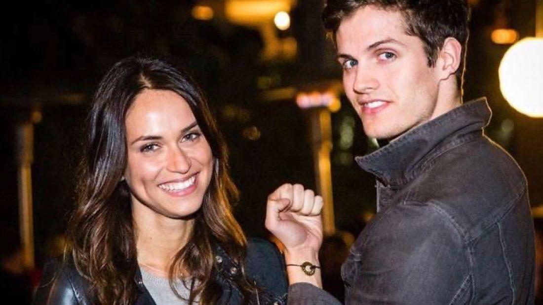 Daniel Sharman and Asha Leo