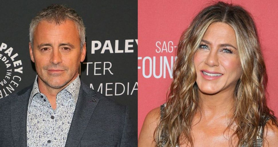Jennifer Aniston and Matt LeBlanc