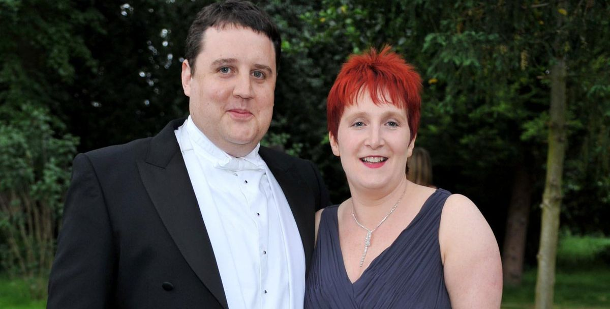 Peter Kay and Susan Gargan
