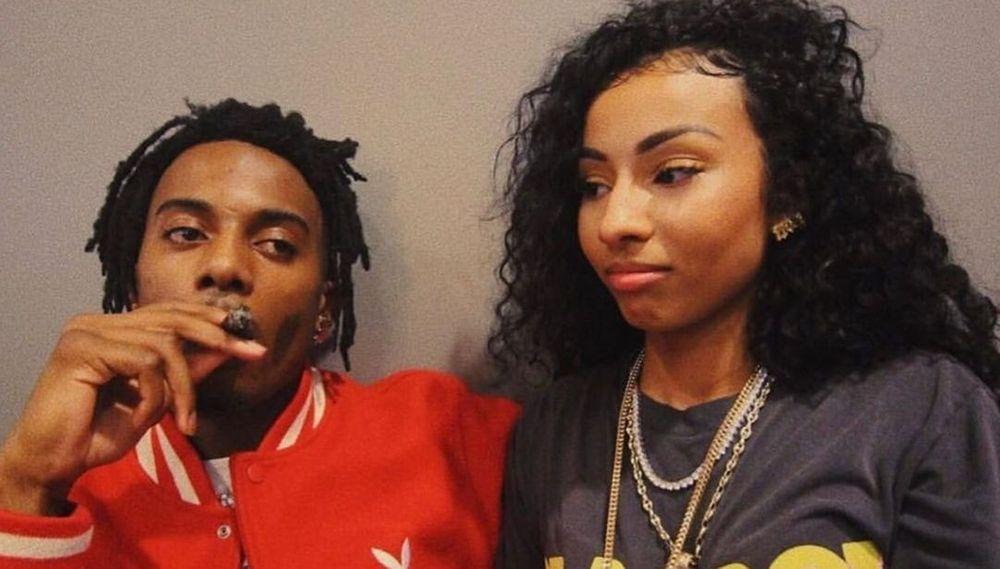 Playboi Carti and Rubi Rose