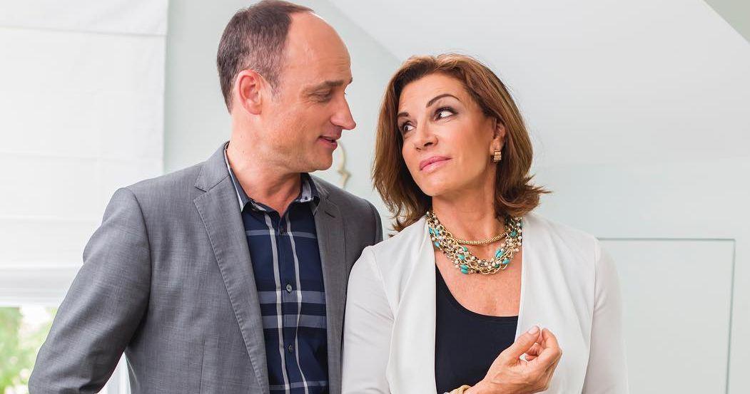 David Vinsentin and Hilary Farr