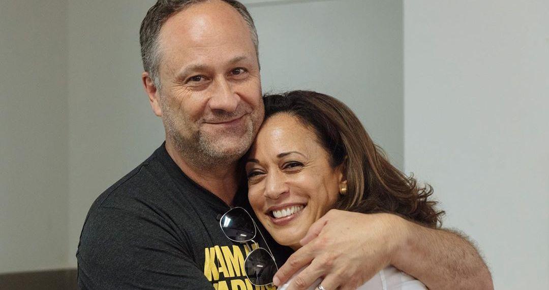 Douglas Emhoff and Kamala Harris