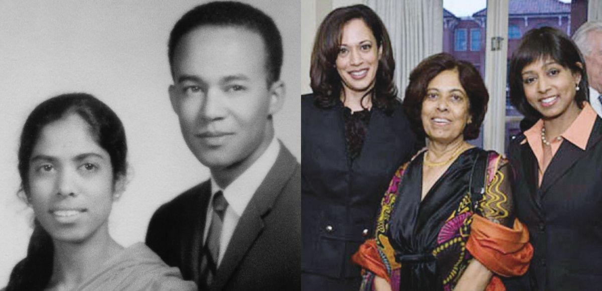 Kamala Harris parents and sister
