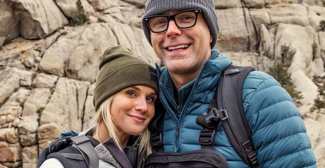 Caitlin Parker and Bobby Bones