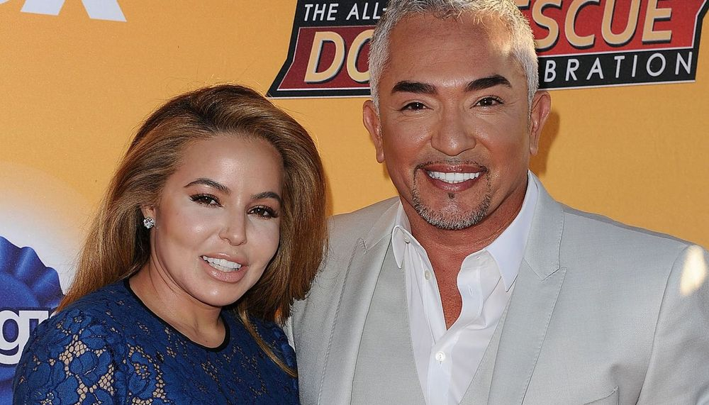 Cesar Millan and Jahira Dar