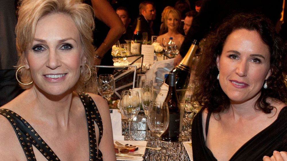 Jane Lynch And Dr. Lara Embry