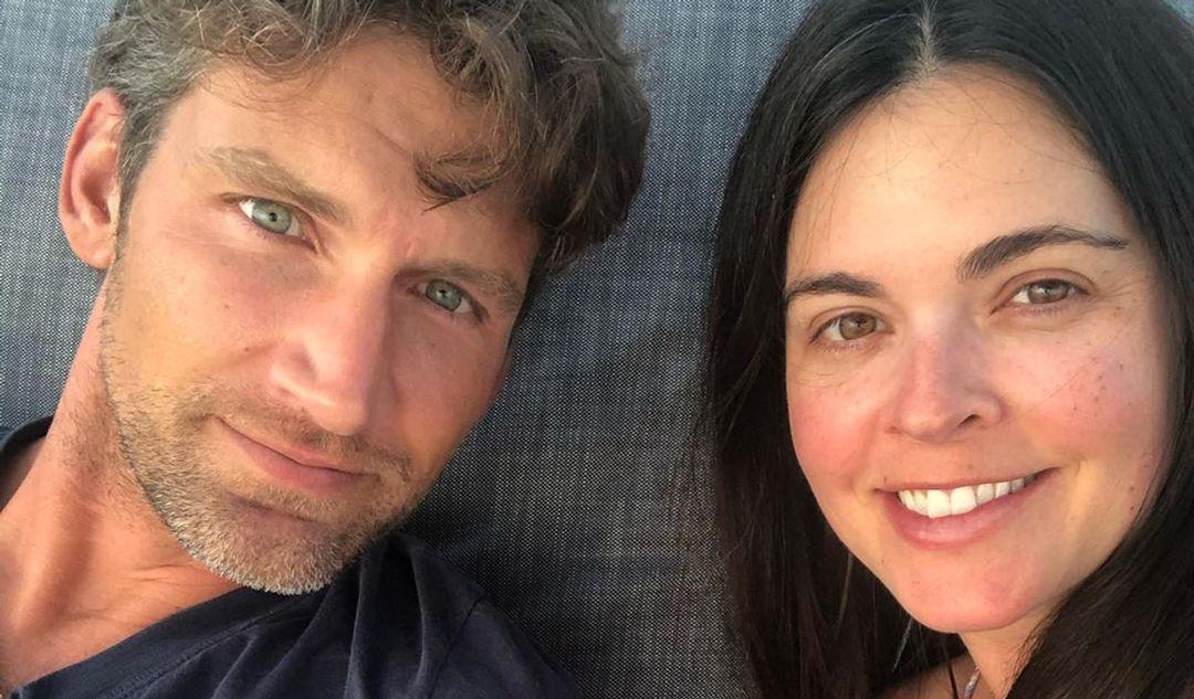 Katie Lee and Ryan Biegel