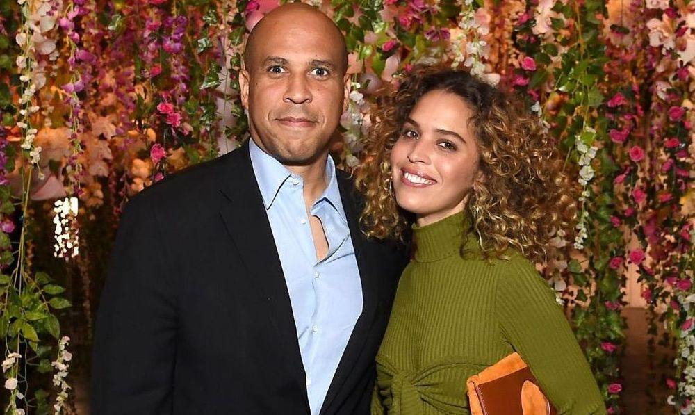 Cory Booker and Cleo Wade