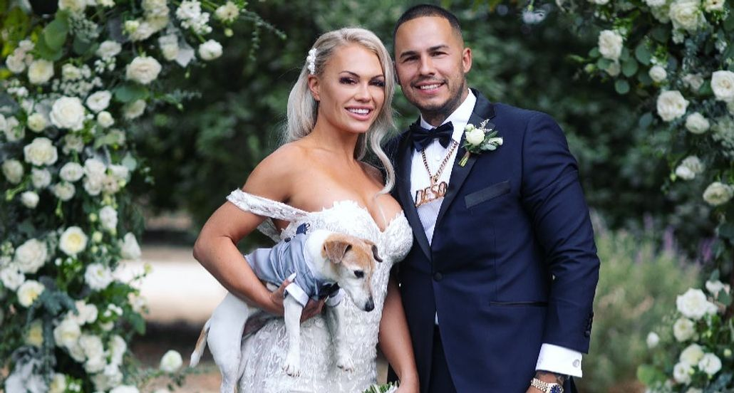 Derek Deso and Sophia Turner wedding