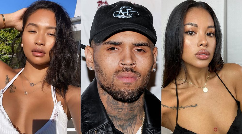 Gina Huynh, Chris brown And Ammika Haris