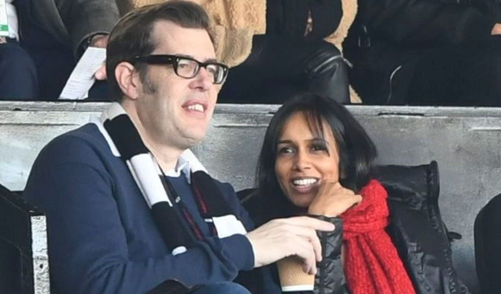 Richard Osman and Sumudu Jayatilaka