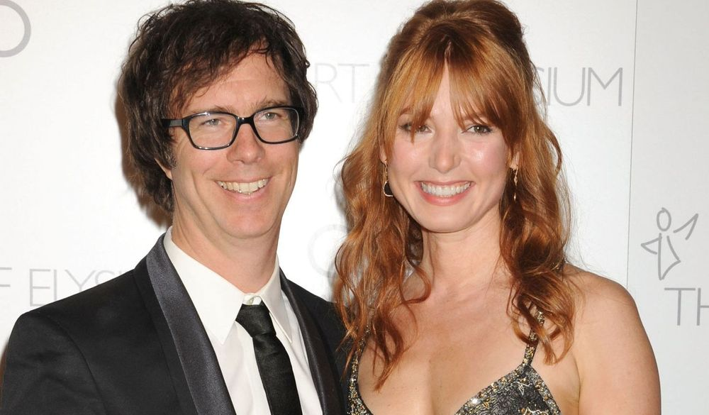 Alicia Witt and Nathan Foulger