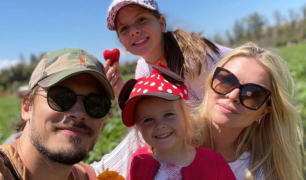 Gleb Savchenko family