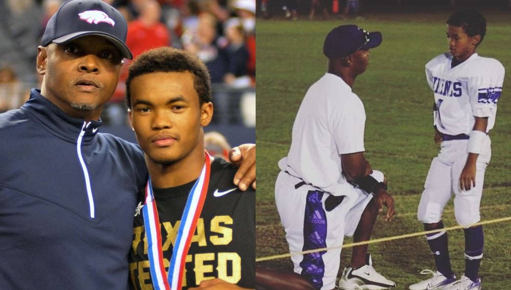 Kyler Murray and dad