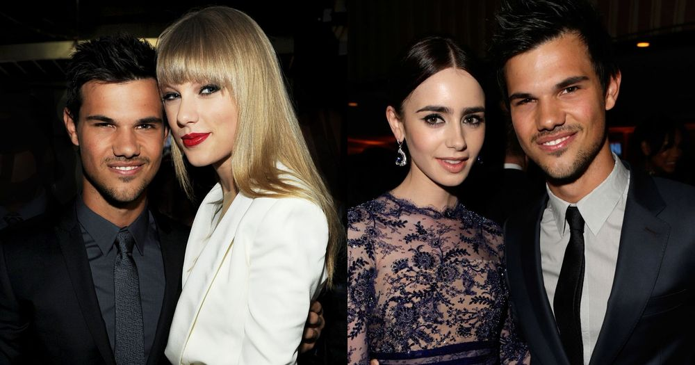 Taylor Lautner, Taylor Swift And Lily Collins