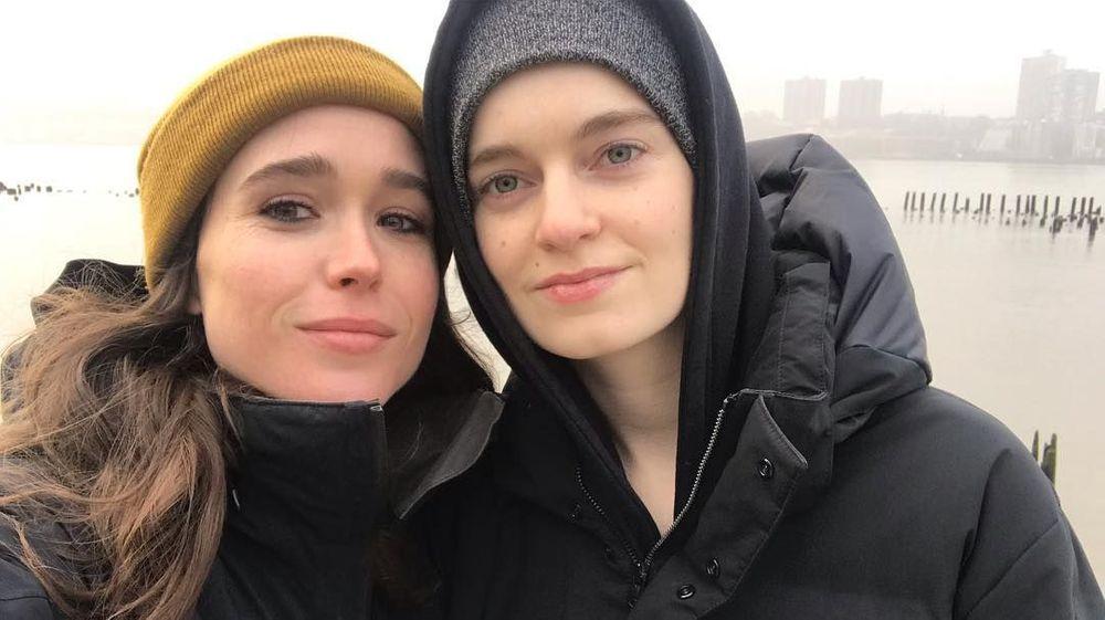 Elliot Page And Emma Portner