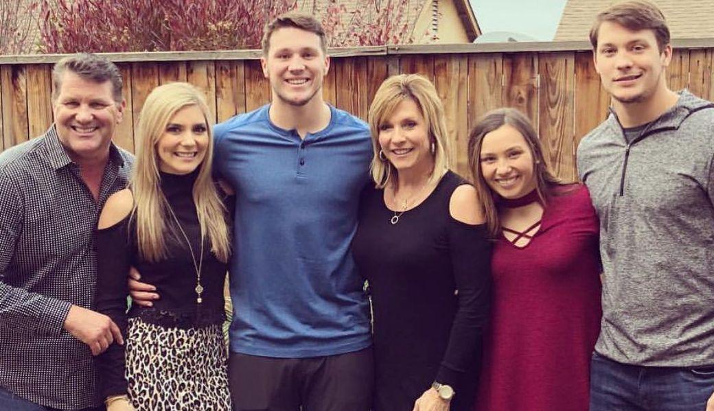 Josh Allen family