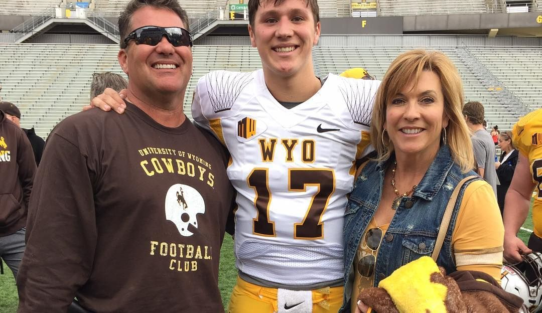Josh Allen's father and mother