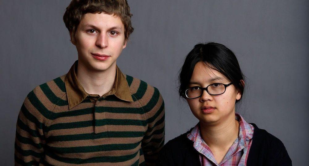 Michael cera  and Charlyne Yi