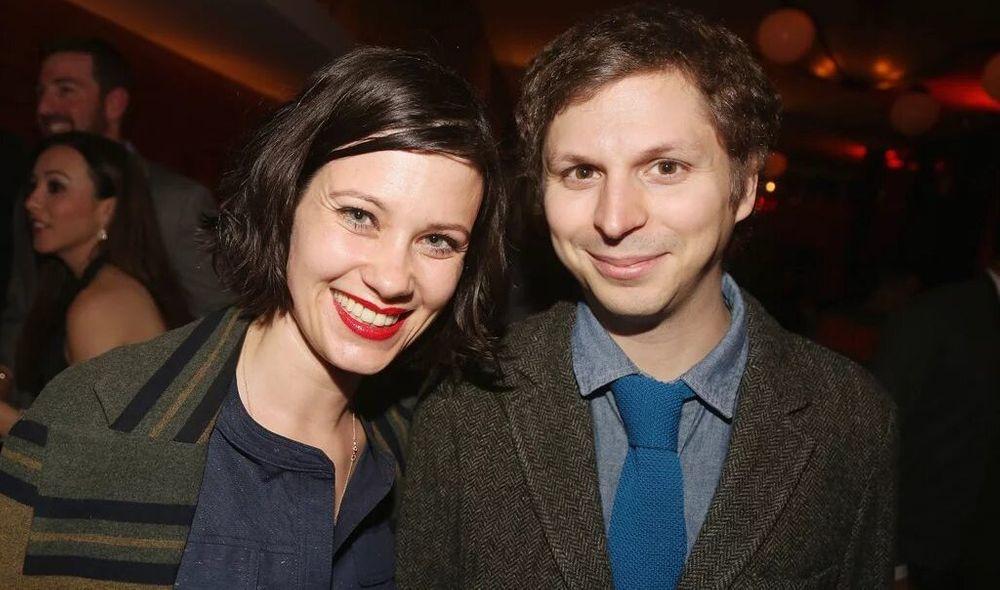 Nadine and Michael Cera