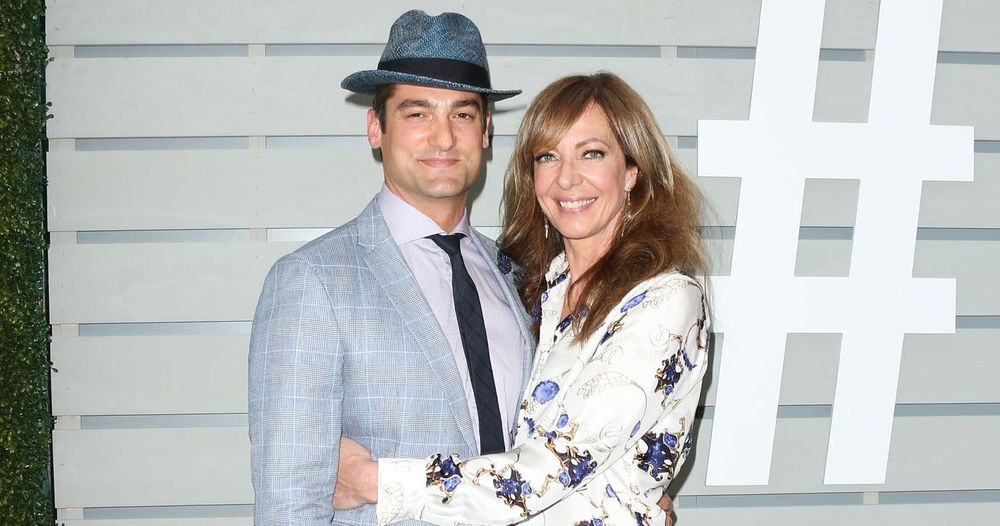 Philip Joncas And Allison Janney