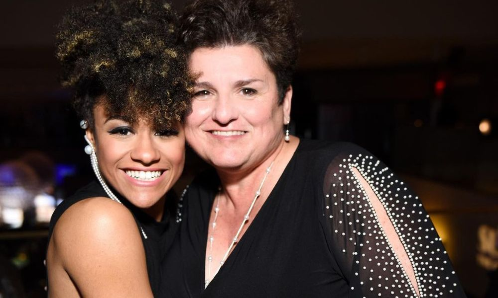 ariana debose and her mother