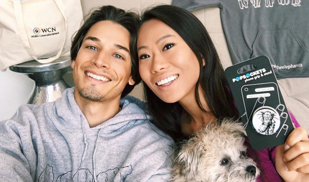 Andrew Gray and Kelly Mi Li
