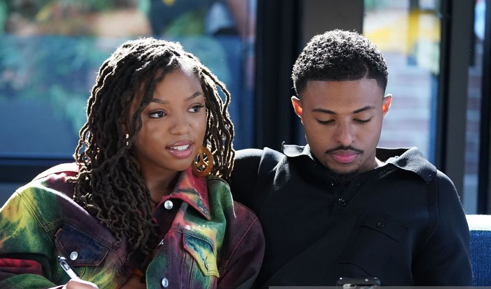 Chloe Bailey And Diggy Simmons
