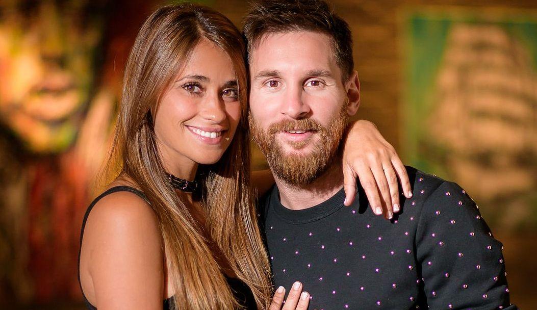 Antonella and Messi
